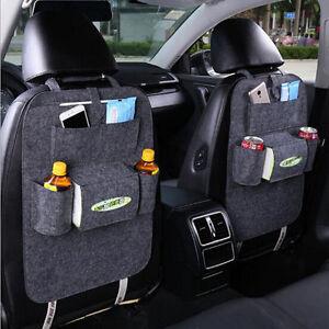 Voiture-Auto-SEAT-ORGANISEUR-Arriere-Poches-Multiples-Sac-De-Rangement