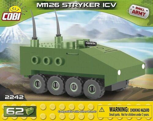 Panzer LAV M1126 PT91 AAT AHS T54 Abrams Nano Tanks COBI 2240 bis 2247