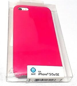 more photos bf006 15d15 Details about ONN Phone Case for iPhone 5 iPhone 5s iPhone SE Teal - HOT  PINK! - NEW