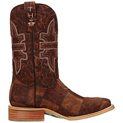2c76441a8a2 Tin Haul BOOTS Mens Brown Leather Mullet Man Million Dollar Cowboy 10 D