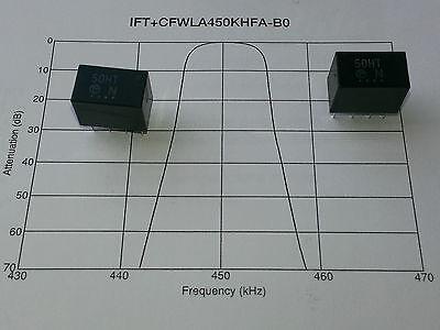 Initiative [5 Pcs] Genuine Murata Filters 450khz Total Bw=6khz Cfwla450khfa Marking 50ht