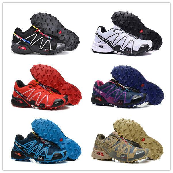 Salomon Speedcross 3 Herren Cross Schuhe Laufschuhe Outdoor Schuhe Turnschuhe
