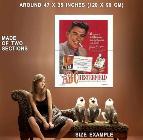 65942 Chesterfield Movie Ronald Reagan Decor Wall Print POSTER