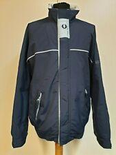 8c3c0d560 Fred Perry Woven Piqué Bomber Jacket Blue Granite L for sale online ...