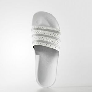 Brand-New-Adidas-50-Men-039-s-adilette-Slides-BY9910-White
