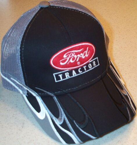 2 types Ford Tractor Logo or Ford 8N Wave Design Mesh Hat