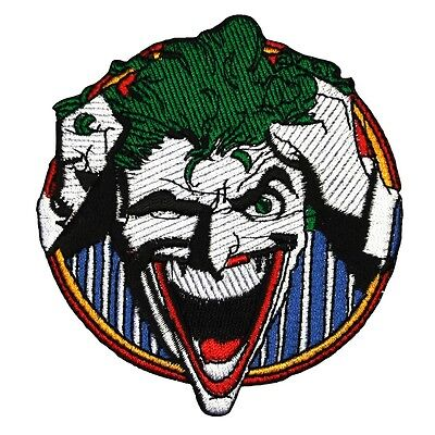 The Joker Arkham Asylum Inmate Patch Batman Villain DC Comics Iron-On Applique