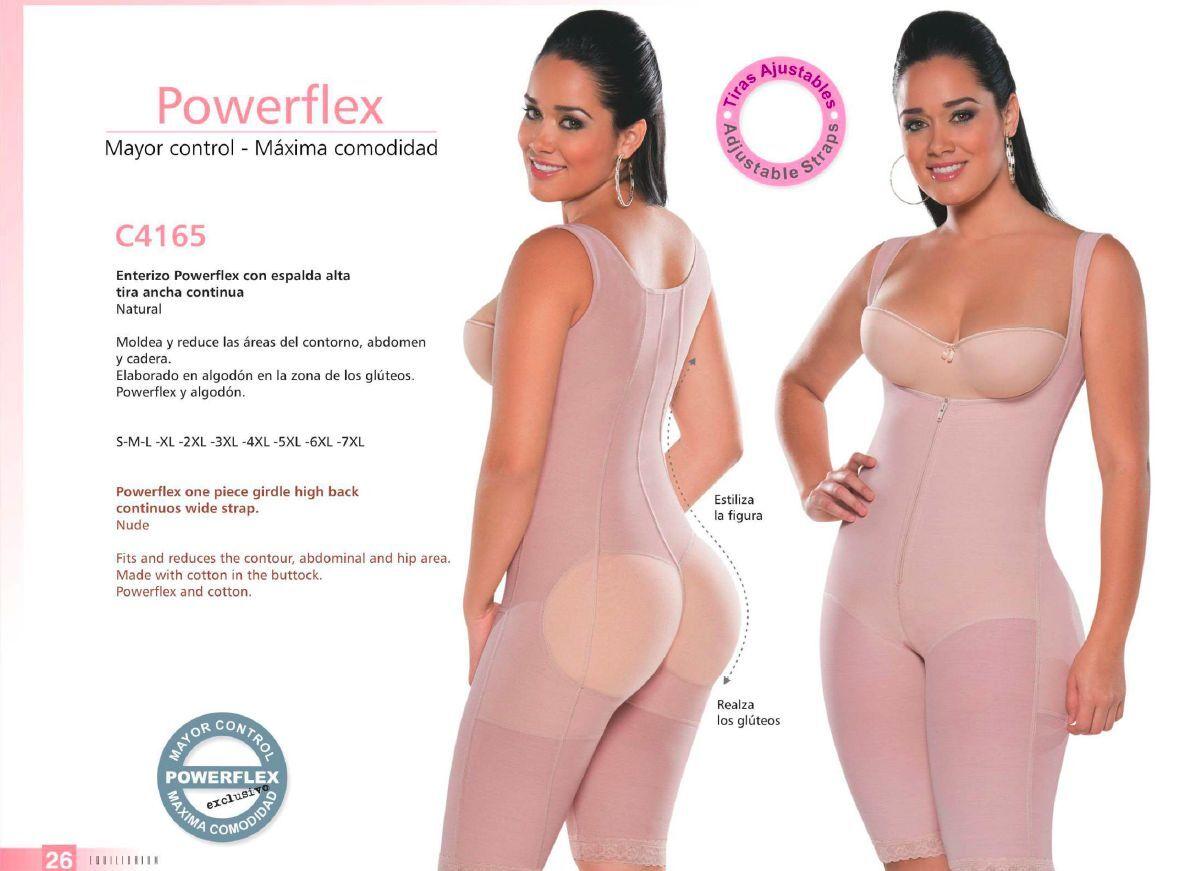 Fajas Colombianas Powerflex Equilibrium - Body Shaper with PowerFlex