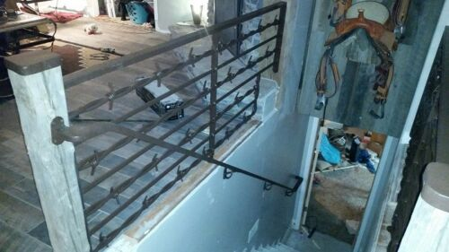 Fencing Gates Railing USA Steel Big Barb Wire Home Garden Decorative Ranch