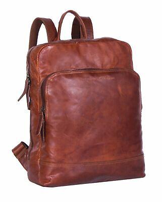 Symbol Der Marke The Chesterfield Brand Mack Backpack Rucksack Tasche Cognac Braun Neu Vertrieb Von QualitäTssicherung