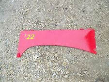 Massey Harris Mh 22 Tractor Engine Motor Left Frnt Side Hood Cover Panel Curtain