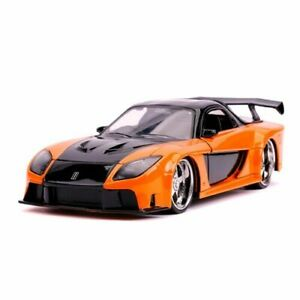 Highly Collectible High Quality F&F Han's Mazda RX-7 1:24 Scale Hollywood Ride