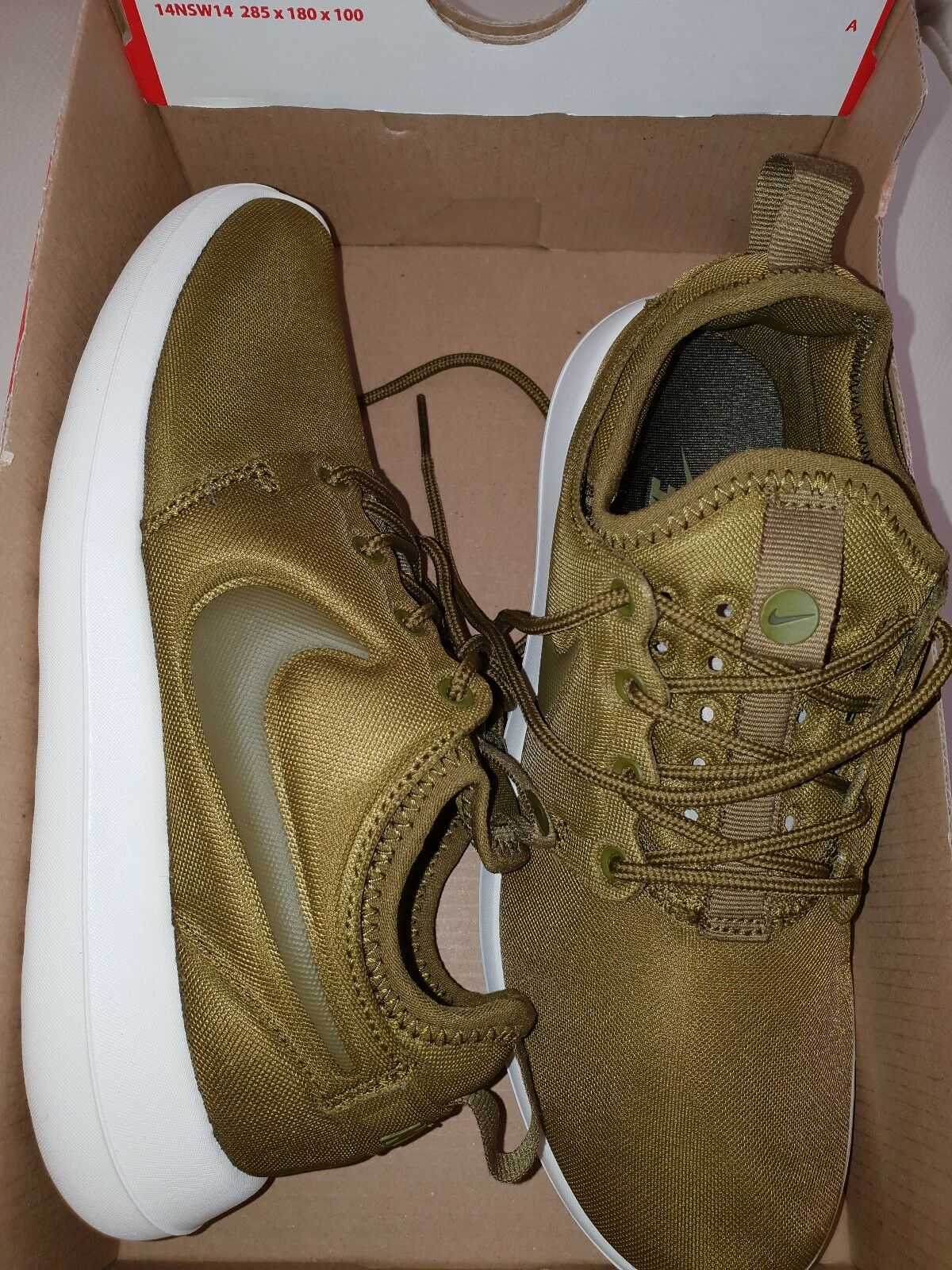 21ed25036eb6 NIKE ROSHE TWO Running Trainers shoes Gym Casual - 2.5 Olive green UK Womens  opotqr5259-Women s Trainers