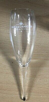 MOET CHANDON CHAMPAGNE POMPONNE FLUTE X1 BRAND NEW 21 CMS LONG