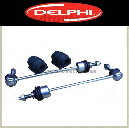 LAND ROVER DISCOVERY 3 FRONT ANTI ROLL BAR DROP LINK RODS /& BUSHES OEM DELPHI