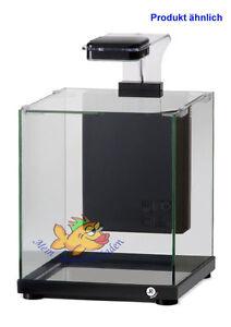 a220b schwarz glas aquarium komplett set 9 l led. Black Bedroom Furniture Sets. Home Design Ideas