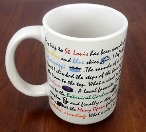 Luke-a-Tuke-St-Louis-City-Coffee-Mug-Cup-EUC-Collectible-Twitter-Tweet