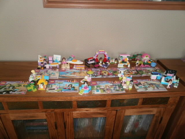 Lego Friends 3930, 3931, 3932, 3933, 3934, 3935, 3936, 3937, & 3938  9 Sets