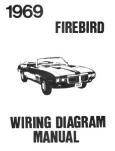 pontiac 1969 firebird wiring diagram 69 | ebay, Wiring diagram