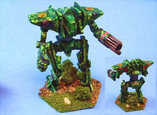 Battletech painted Ymir battlemech  GC