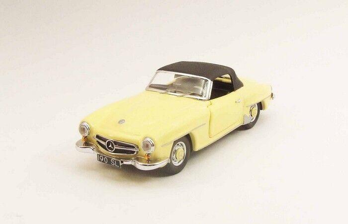 Rio 4370 -  Mercedes 190 SL jaune - 1955  1/43