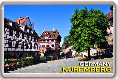 NUREMBERG GERMANY FRIDGE MAGNET SOUVENIR IMAN NEVERA