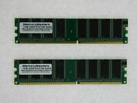 2gb (2x1gb) Memory For Biostar M7ncg 400 400 (7.x) Pro