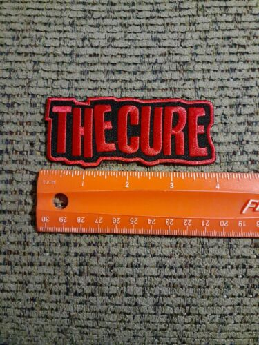 The Cure Rock Band Sew or Iron on Patch NEW
