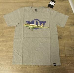 34a7a2802 DICKIES Grey Melange Amagon T-Shirt size XS new with tag #49 | eBay