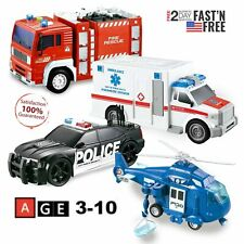 Building Block Set Wilko Blox Fire Engine /& Helicopter Construction Block Kit
