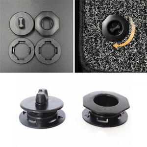 2X-Black-Premium-Car-Mat-Carpet-Clips-Fixing-Grips-Clamps-Floor-Holders-Sleeves