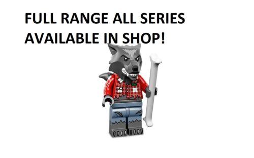 LEGO WOLF GUY//UOMO LUPO SERIE 14 non aperti nuovi di fabbrica sigillata