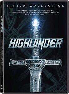HIGHLANDER-5-FILM-COLLECTION-CHRISTOPHER-LAMBERT-SEAN-CONNERY-DVD-R1