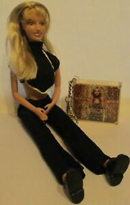 2000 Britney Spears Doll with MCD Musical Keychain - Plays Stronger