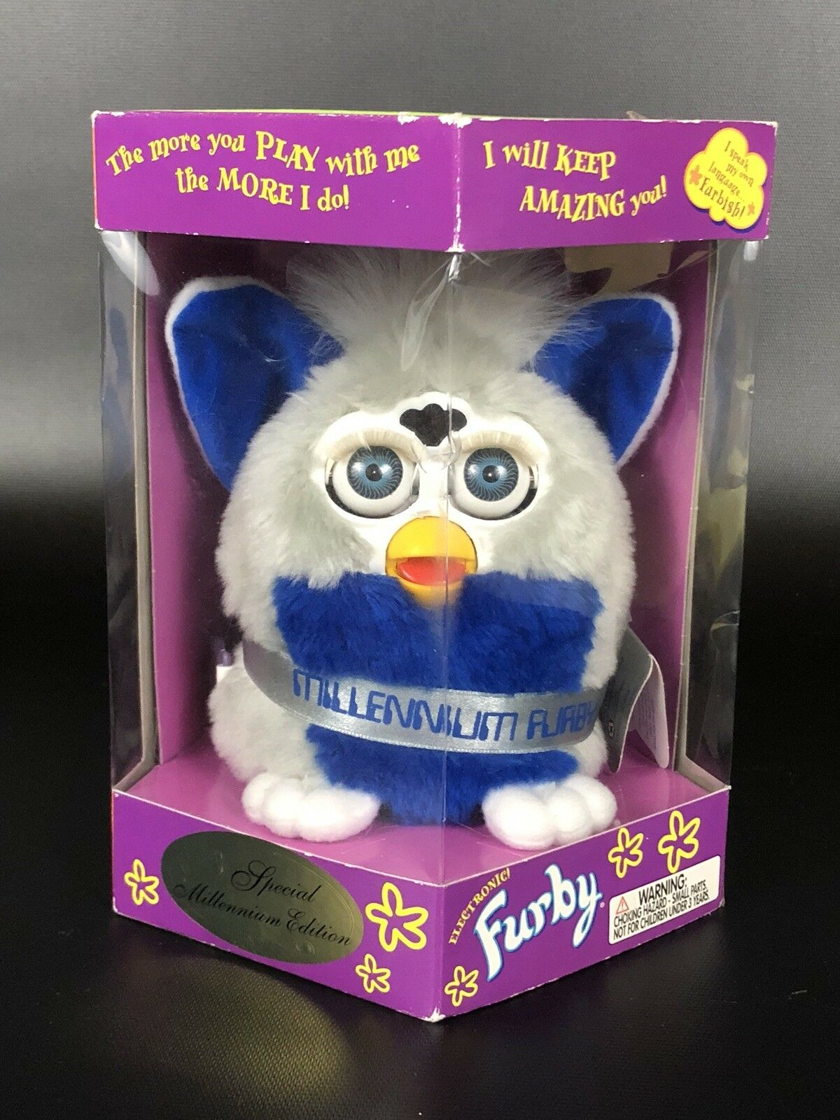 NIB Vintage Furby Special Millennium Edition