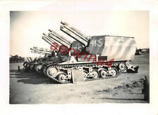 Panzerhaubitze mit franz. Fahrgestell Panzer Tank  Tobruk Libyen DAK