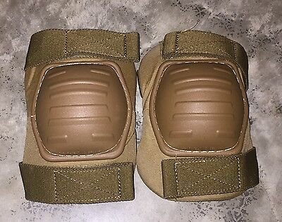 Paintball Airsoft Skateboard EXC USMC Coyote Tan Elbow Pads Size Medium