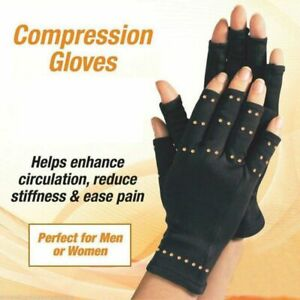 New-Copper-Hands-Arthritis-Gloves-Therapeutic-Compression-Brace-As-Seen-Cotton