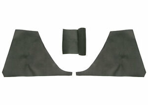 Porsche 914 side vinyl sail panel rollbar recovering kit genuine material!