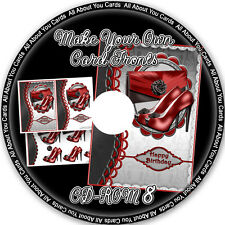 Make Your Own Card Fronts CD-ROM 8