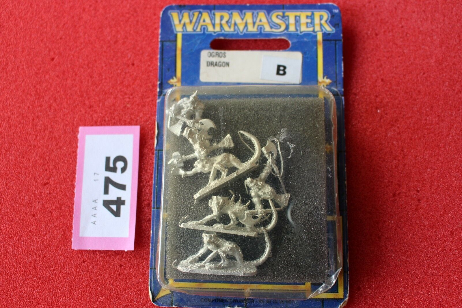 Warmaster Chaos Dragon Ogres New BNIB 10mm Games Workshop Metal OOP GW Figures