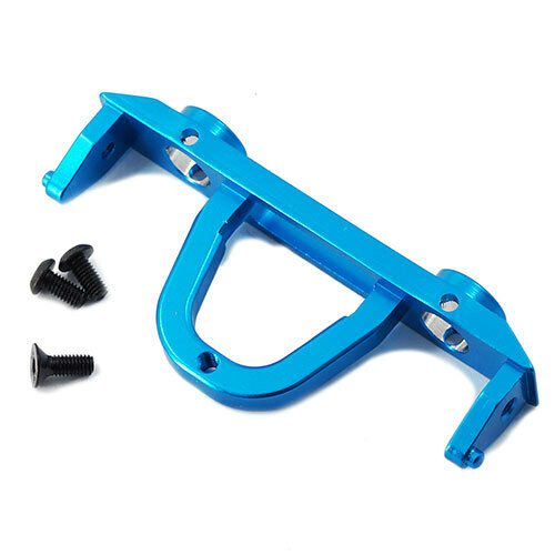Blue alloy REAR bumper mount plate for Axial SCX10.1:10 RC rock crawler
