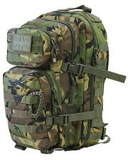 BRITISH ARMY STYLE 28 LITRE ASSAULT PACK BACKPACK in DPM WOODLAND CAMO