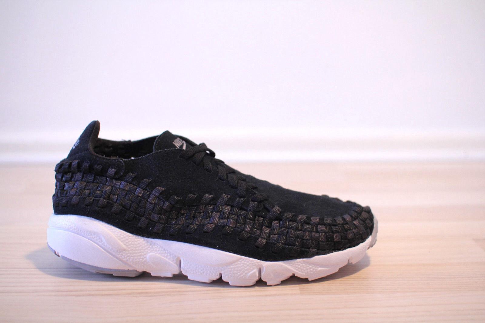 Nike Air Footscape Woven NM black white Gr. 42,43,44,45 NEU & OVP