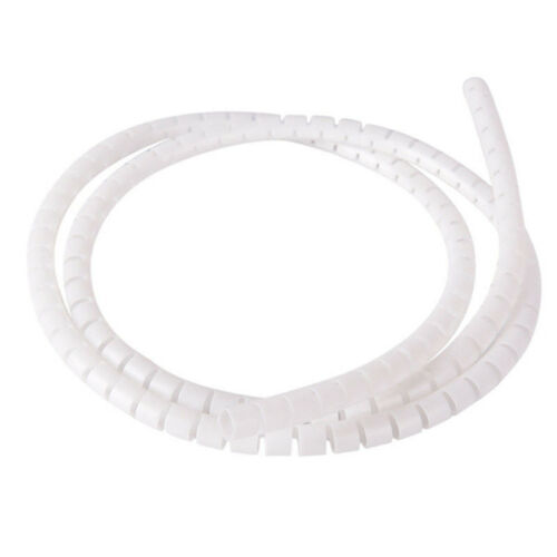 1m 10//25mm Cable Spiral Wrap Tidy Cord Wire Band Loom Storage Organizer Tool  R
