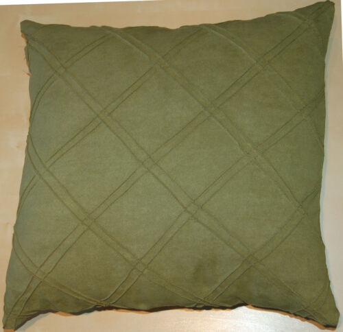 """Faux Suede Cushion Covers 18/""""x18/"""" or 16/""""x16/"""" in Various Colours FS//DLXZ"""