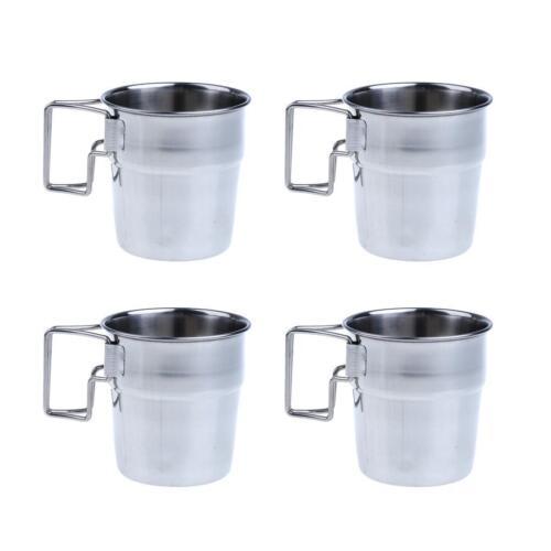 Tasse de café extérieure de camping de tasse de l/'eau d/'acier inoxydable