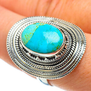 Large Arizona Turquoise 925 Sterling Silver Ring Size 9 Ana Co Jewelry R42954F