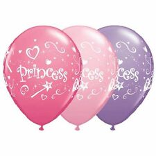 "10 pc 11"" Lavender & Pink Princess Latex Balloon Party Decoration Birthday Wand"