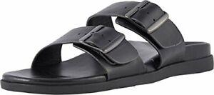 Vionic-Men-039-s-Ludlow-Charlie-Slide-Sandal-Adjustable-Buckle-Black-Size-9-0-cj
